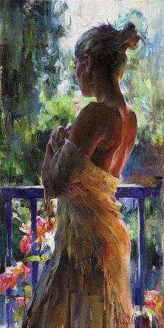 The Garmash's incredible talent is only matched by their love and career stories. Michael and Inessa won several International awards for their portrait work and are considered to be one of the most important figurative artists working on the US market. Woman Painting, Figure Painting, Painting & Drawing, Portrait Art, Figurative Art, Female Art, Amazing Art, Art Drawings, Art Photography