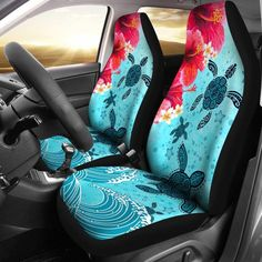 Ideas For Mustang Cars Accessories Seat Covers Jeep Seat Covers, Car Seat Cover Sets, Ferrari, Cute Car Accessories, Turtle Love, Mustang Cars, Cute Cars, Car Girls, Colorful Interiors