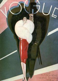 Vogue Art Deco Poster Plakat  Affiche