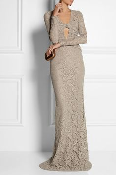 Burberry Prorsum - would like a dress with lace, color - not front cleavage - but something like this - if wedding is formal