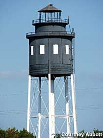Cape Charles, Virginia: Lighthouse Water Tower