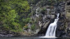 """Visit Linville Falls, """"The Grand Canyon of the Southern Appalachians."""" #VacationBIG"""