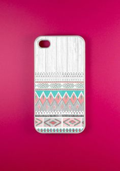 if and when I ever get an iPhone... (Iphone 4 Case - Aztec Pattern Iphone 4s)