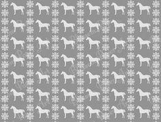 Grey Horses Digital Scrapbook - Printable Paper - Download Image - Scrapbooking - Blosoom Paper Art