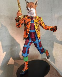 Revolution Kid by Yinka Shonibare #sculpture #art #fox #netherlands #foxy #denhaag #museumbeeldenaanzee