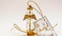 Campanitas angelito de cristal