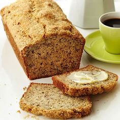 A dash of freshly ground coffee beans gives banana bread a jolt of added flavor. Of course, it also pairs deliciously with your morning cup of joe.