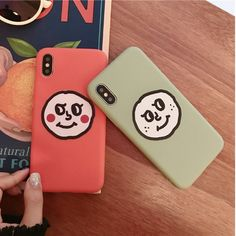 Woman Cute Phone Case Cartoon Pattern Emoticon Pack Liquid Soft Shell For iPhone Phone Case Store, Diy Phone Case, Cute Cases, Cute Phone Cases, Iphone Cases For Girls, Give You Up, Mobile Covers, Emoticon, Couple Gifts