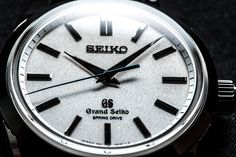 BASEL BUILDUP: Seiko's impact at Baselworldlast yearwas measurable on the Richter scale. If it wasn't the aftershocks of the Seiko Presage Chronograph 60thAnniversary Limited Editionit was watches like the Grand Seiko Spring Drive SBGD001. Hard model name toremember. Easy watch to be wooed...