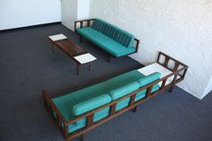 Danish Modern Mid Century Modern Sectional Daybed Sofa by Kinzco, via Flickr