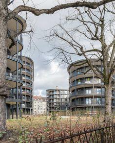 Wohnen am Schaffhauserrheinweg • Architektur Photographie Philip Heckhausen Basel, Residential Architecture, Mixtape, This Is Us, Building, Green, House, Inspiration, Image