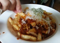 Hot Chili Fries @ House Grill