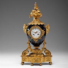 "French Porcelain Mantel Clock (10/11/2014 - Fine and Decorative Art : Live Salesroom Auction)"" target=""_blank"""
