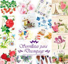 Nueva colección de servilletas para decoupage y decoración. http://www.artesaniasmontejo.com/novedades  #decoupage #artesaniasmontejo