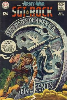 Diversions of the Groovy Kind: The Grooviest Covers of All Time: Joe Kubert Rocks (Part One)