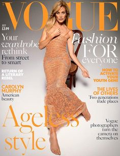 Carolyn Murphy by Inez & Vinoodh for Vogue UK July 2017 Covers