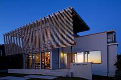 Impressionnante maison bois béton contemporaine dans les environs de Vancouver, Canada,  #construiretendance