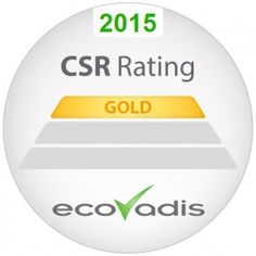 G&D again recognized/rewarded with top-rated @ecovadis certificate. #CSR #sustainability