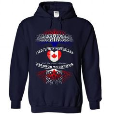 NETHERLAND And CANADA - #long tee #tshirt men. BUY NOW => https://www.sunfrog.com/Funny/NETHERLAND-And-CANADA-9279-NavyBlue-Hoodie.html?68278