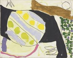 Patrick Heron January 1920 – 20 March was a British abstract and figurative artist, who lived in Zennor, Cornwall. Patrick Heron, Irish Art, Abstract Shapes, Abstract Art, Art Plastique, Abstract Expressionism, Painting Inspiration, Painting & Drawing, Yorkie