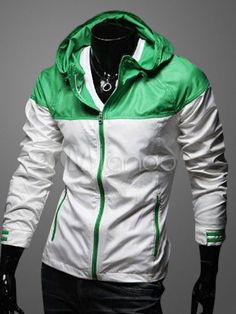 Two-Tone Hooded Jacket - Save Up to 70% Off on fabulous fashion trend products at Milano with Coupon and Promo Codes.