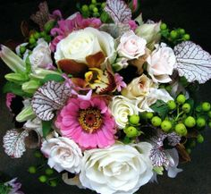 created by Vibrant Flowers, a division of Vibrant Table Catering & Events in Portland, Oregon