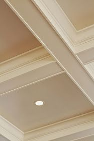 Looking for coffered ceiling design ideas and photos? Access the largest collection of coffered ceiling from top interior designers. Moldings And Trim, Coffered Ceiling, House Design, Family Room, Home Ceiling, Home Remodeling, Ceiling Design, Ceiling, House Interior
