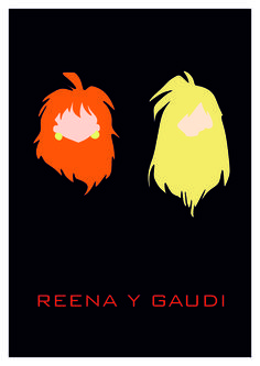 Reena y Gaudi. Desierto Studios (Óscar Sola)