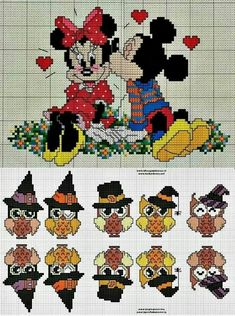 Mickey & Minnie Besitos