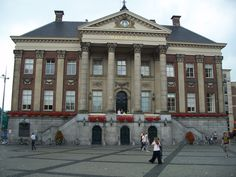 Groningen, The Netherlands: Grote Markt Stadhuis