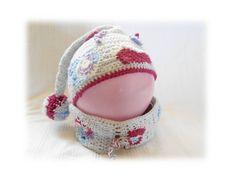 f61a10d56fdf bonnet de lutin bébé et son snood assorti taille 6 mois au crochet   Mode  Bébé…