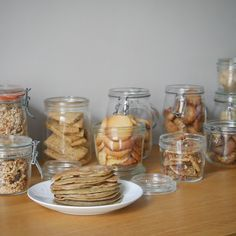 a-gouter How I managed to replace industrial cookies with homemade ones - Love on the comet Wedding Oats Snacks, Vegan Snacks, Snack Recipes, Cooking Recipes, Cheese Cookies Recipe, Healthy Protein Breakfast, Batch Cooking, Breakfast For Kids, Love Food
