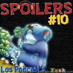 Portada del décimo episodio del podcast Spoilers de TheZash.com en donde se habla de películas sobre Kaijus o criaturas gigantes.