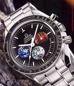OMEGA Speedmaster Moon to Mars