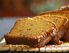Cake d'automne au thé et aux citrons acidulés