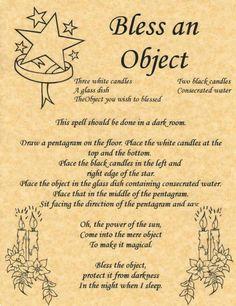 Bless an Object