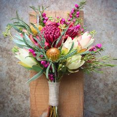 Waratah Wedding Bouquets