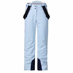 Special Features: Ski pants with full weather protection and removable suspenders for more flexibilty. The stretch fabric guarantees for unrestricted freedom of movement. Description: • Outside ski edge protection for a longer product life • External waist adjustment to fine tune the fit • Remov...