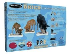Nina Ottosson Dog Brick Activity Toy by Company Of Animals at the Pet-r-us.com