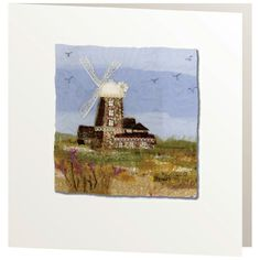 R100 (no title) - Handmade Cards from Abigail Mill Embroidery