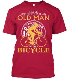 "Print on back side=> https://teespring.com/oldman-bicycle-back?manual=oldman Old Woman =>https://teespring.com/old-woman-bicycle?tsref=oldman Hoodie==>https://teespring.com/old-man-bicycle-hoodie?tsref=oldman  More Styles==>https://teespring.com/stores/biker-tshirt-2?oldman=store - Not available in stores. Limited quantities!- Buy 2 or more and save on shipping!- Guaranteed safe and secure checkout via: Paypal/VISA/MASTERCARDHOW TO ORDER: 1. Select the style and color you want2. Click ""BUY…"