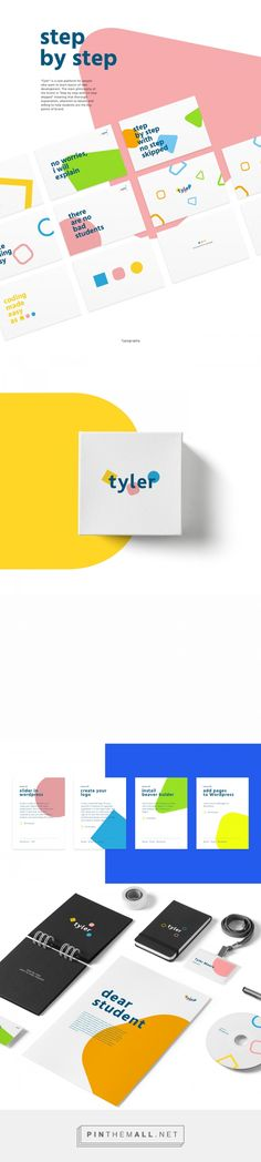 Tyler Brand Identity on Behance - created via https://pinthemall.net