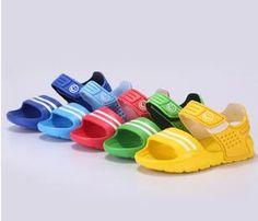 Summer children sandals slip-resistant wear-resistant small boy casual sandals girls boys shoes