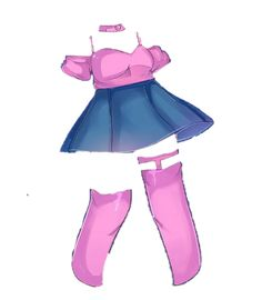 Discover recipes, home ideas, style inspiration and other ideas to try. Drawing Anime Clothes, Manga Clothes, Anime Drawing Styles, Anime Girl Drawings, Kawaii Clothes, Outfit Drawings, Fashion Design Drawings, Fashion Sketches, Club Outfits