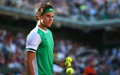 Descargar fondos de pantalla Dominic Thiem, 4k, pista de tenis, austria jugador de tenis, retrato, ATP