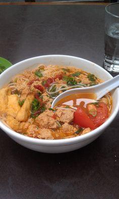 Bun Rieu- my fav noodle soup, hands down!