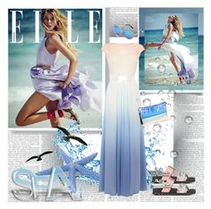 """""""Sea Diva"""" by stylepersonal ❤ liked on Polyvore"""