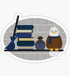 'House Shelf - Eagle' Sticker by HMDigitalDesign Eagle Images, Harry Potter Stickers, House Shelves, Ravenclaw, Sell Your Art, Sticker Design, Finding Yourself, Kids Rugs, Aquarius
