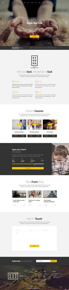 Wordpress Premium, Charity Organizations, Page Layout, Wordpress Theme, Typography, Author, The Incredibles, Letterpress, Letterpress Printing