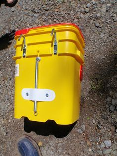 Kitty Litter Bucket Panniers: Finally Finished? | That which Rolls